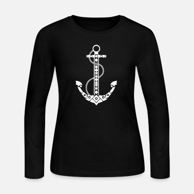 Anchor Anchor - Women's Long Sleeve Jersey T-Shirt