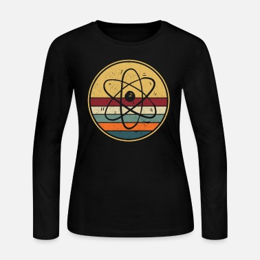 Nuclear Funny Physicist Gift I Science Physics Atom - Women's Jersey Longsleeve Shirt
