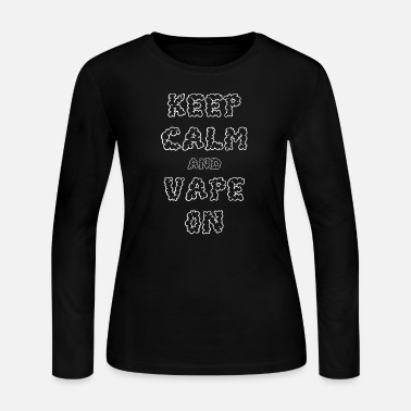 Vape Vape On - Women's Long Sleeve Jersey T-Shirt