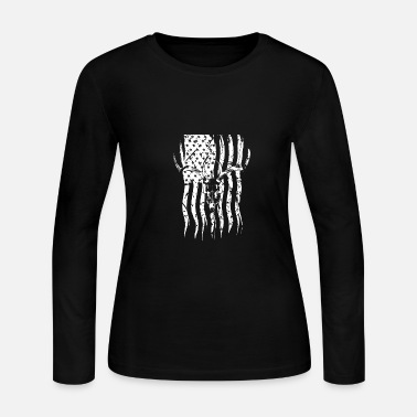 Antler Antlers - Women's Long Sleeve Jersey T-Shirt