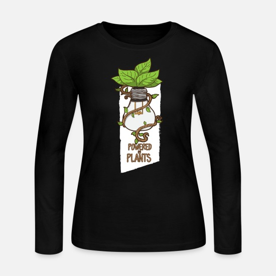 Vegan Long-Sleeve Shirts - Vegan - Women's Jersey Longsleeve Shirt black