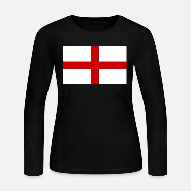 Flag Of England flag england - Women's Jersey Longsleeve Shirt