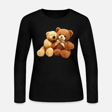 Teddy Bear bears - Women's Jersey Longsleeve Shirt