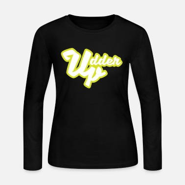 Udder Udder Up - Women's Long Sleeve Jersey T-Shirt