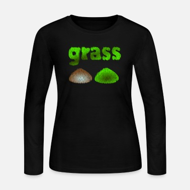 Grass grass - Women's Long Sleeve Jersey T-Shirt