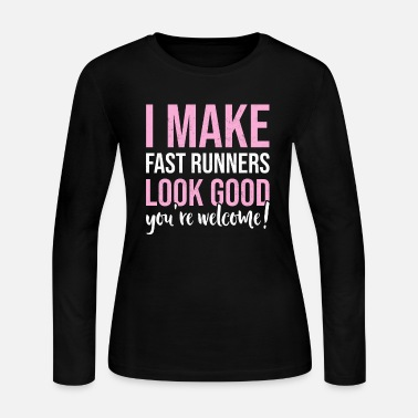 Slow Slow Runner Quote Run Saying Funny Marathon Gifts - Women's Jersey Longsleeve Shirt