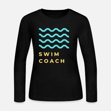 Swimming Coach swim coach - Women's Jersey Longsleeve Shirt