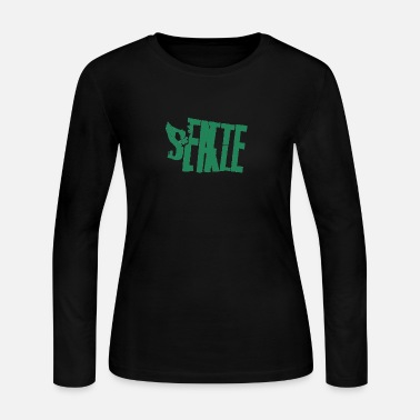 things to do in seattle - Women's Jersey Longsleeve Shirt