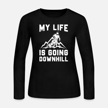 Downhill Downhill Mountain Biking - Women's Jersey Longsleeve Shirt