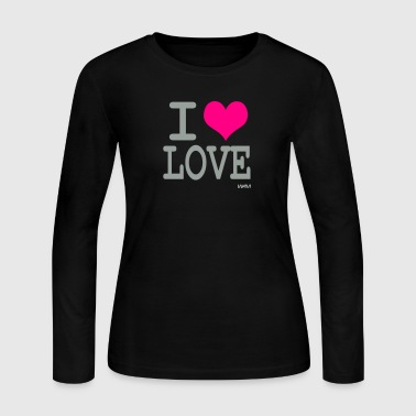 i love love by wam - Women's Long Sleeve Jersey T-Shirt
