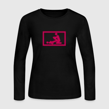 fucking love sex position 1 - Women's Long Sleeve Jersey T-Shirt