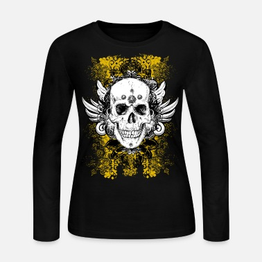 Skull skull - Women's Long Sleeve Jersey T-Shirt
