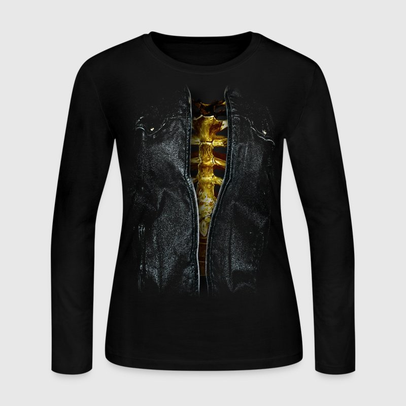skeleton woman - Women's Long Sleeve Jersey T-Shirt