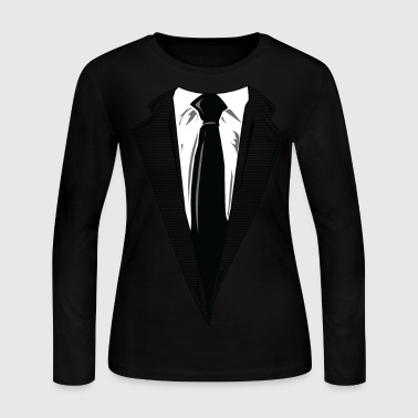 Coat and Tie and Suit and Tie t-shirts - Women's Long Sleeve Jersey T-Shirt