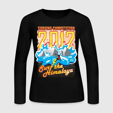 2012 Surfing Competition - Women's Long Sleeve Jersey T-Shirt