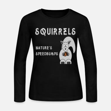 Squirrel squirrels - Women's Long Sleeve Jersey T-Shirt