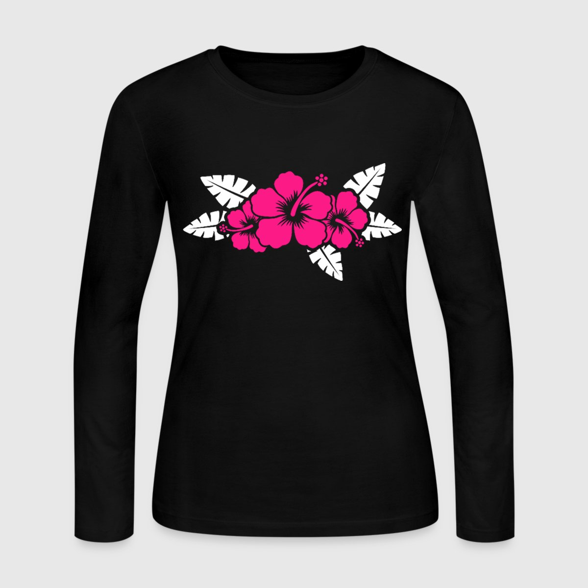 Hawaiian Flower Floral Design By Crowneapparel Spreadshirt