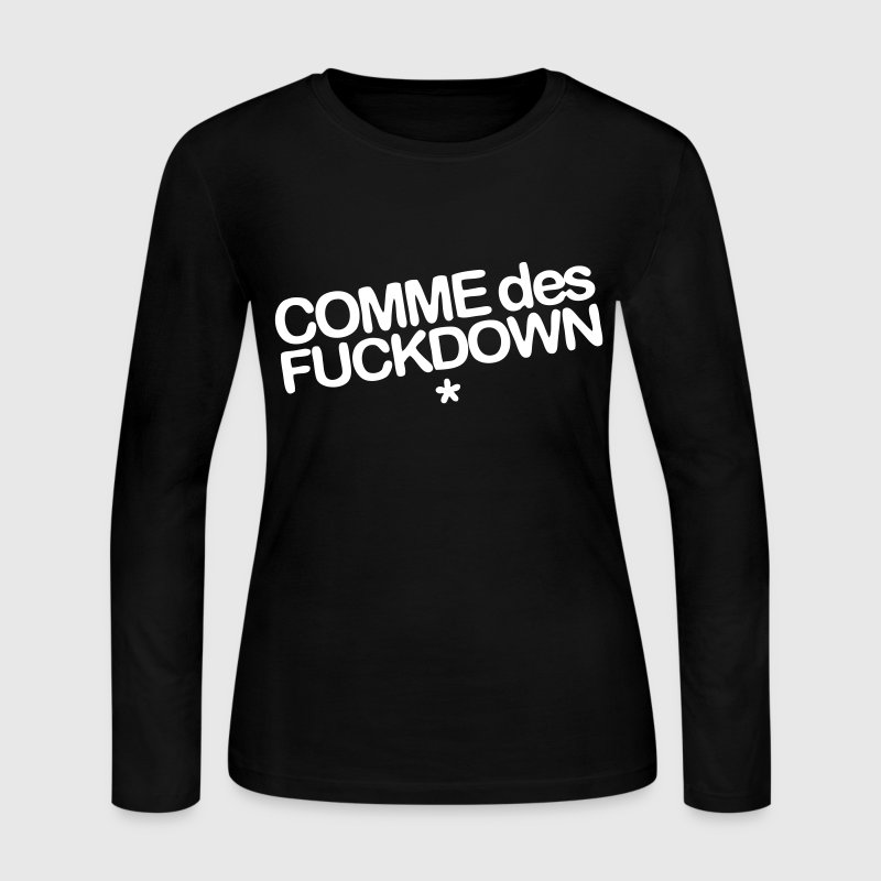 Comme Des Fuckdown - Women's Long Sleeve Jersey T-Shirt