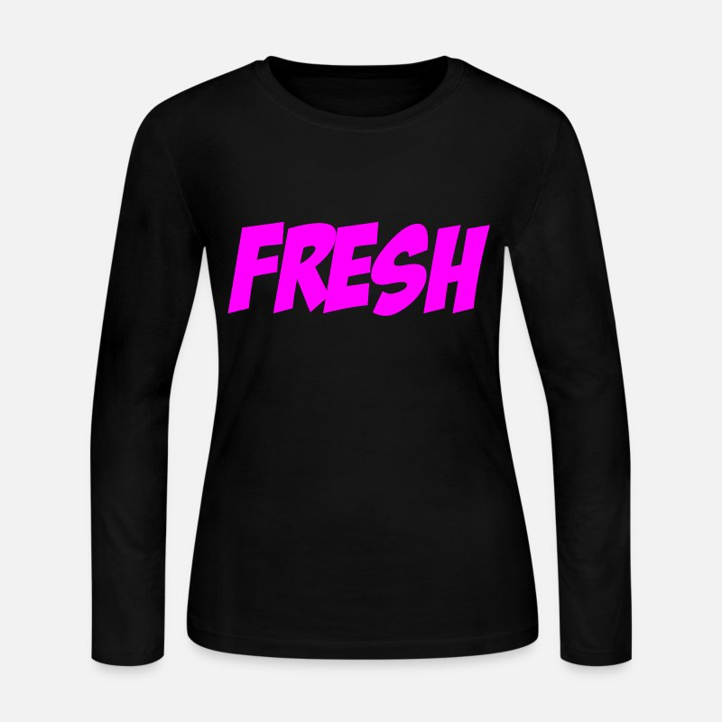 Pauly D Long sleeve shirts - Fresh Pauly D Jersey Shore Design - Women's Jersey Longsleeve Shirt black
