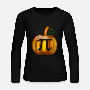 Pi Pumpkin Pi - Women's Long Sleeve Jersey T-Shirt