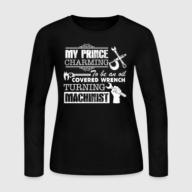 Machinist Prince Charming - Women's Long Sleeve Jersey T-Shirt