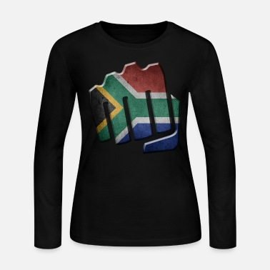 South Africa South Africa - Women's Long Sleeve Jersey T-Shirt