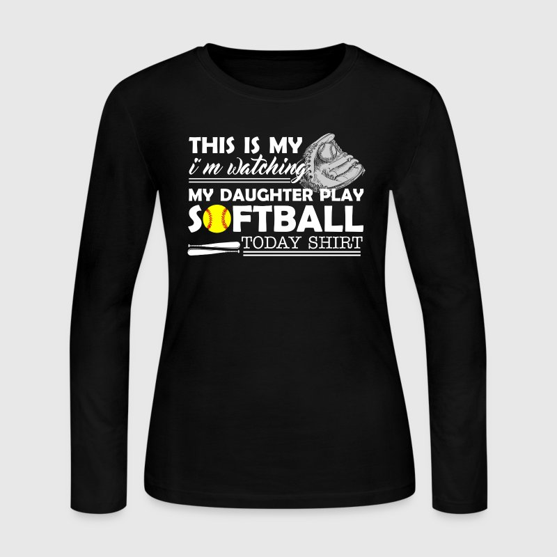 Softball Shirts - Women's Long Sleeve Jersey T-Shirt