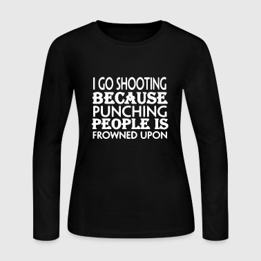 Sports Shooting Shirt - Women's Long Sleeve Jersey T-Shirt