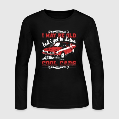Cool Cars Shirt - Women's Long Sleeve Jersey T-Shirt