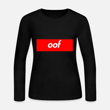 Supreme oof supreme box logo shirt - Women's Long Sleeve Jersey T-Shirt