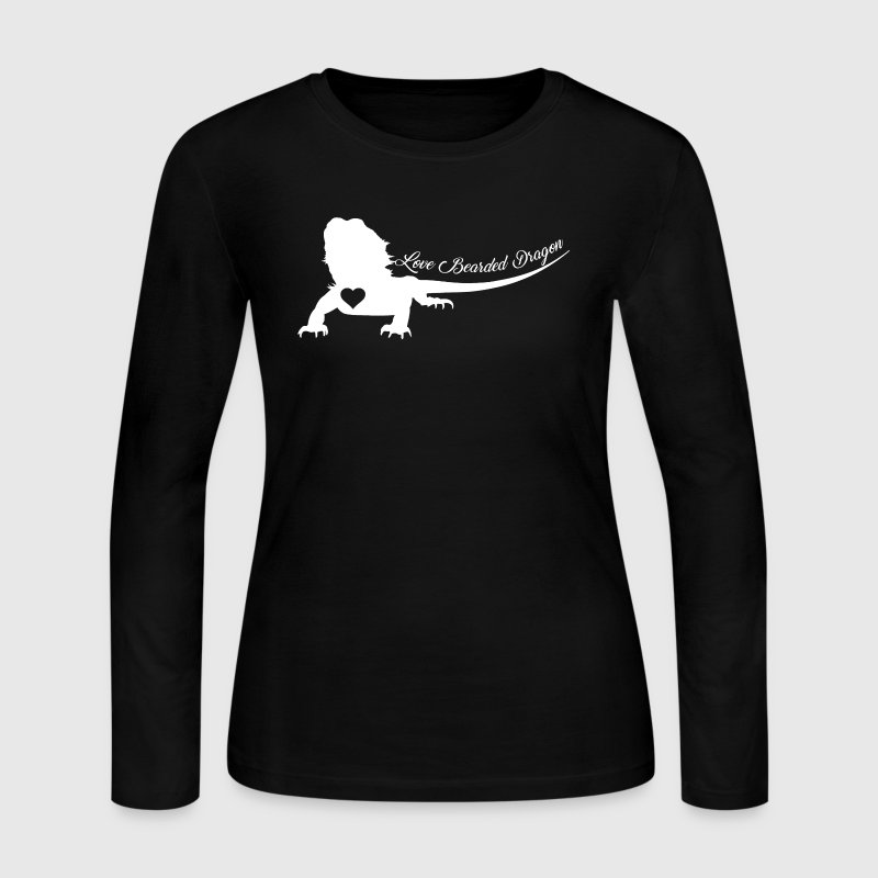 Bearded Dragon Shirt - Women's Long Sleeve Jersey T-Shirt