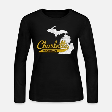 City Charlotte Michigan City Pride - Women's Jersey Longsleeve Shirt