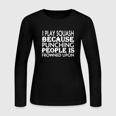 Squash Shirt - Women's Long Sleeve Jersey T-Shirt
