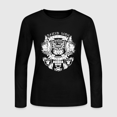 Raider Born Raider Bred - Women's Long Sleeve Jersey T-Shirt