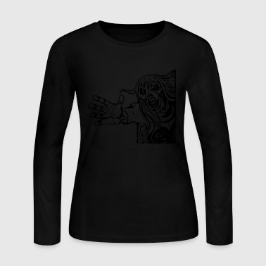 Snake Eyes Monster Snake Eye - Women's Long Sleeve Jersey T-Shirt