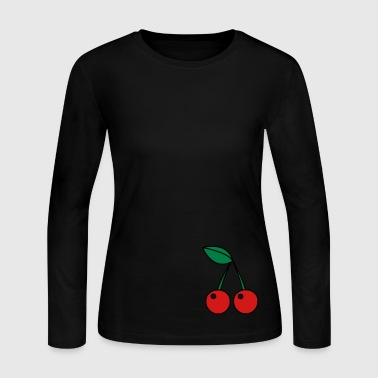 cherries - Women's Long Sleeve Jersey T-Shirt