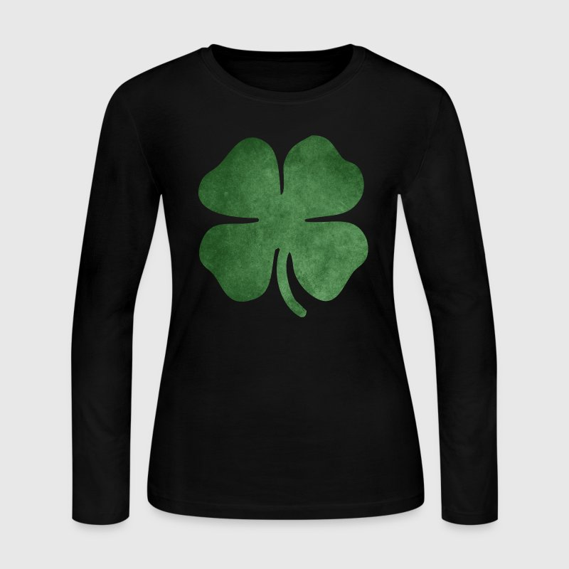 Shamrock - Women's Long Sleeve Jersey T-Shirt