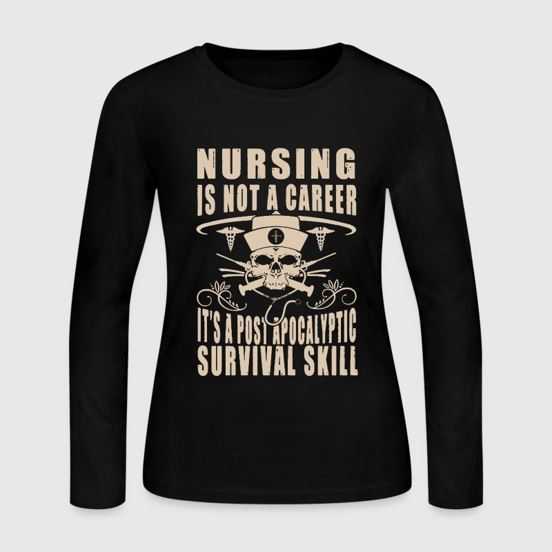 Nursing shirt - Women's Long Sleeve Jersey T-Shirt