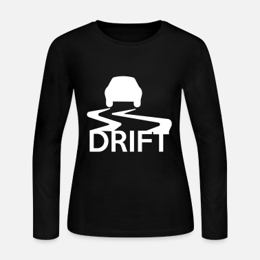 Drifting Drift - Women's Long Sleeve Jersey T-Shirt