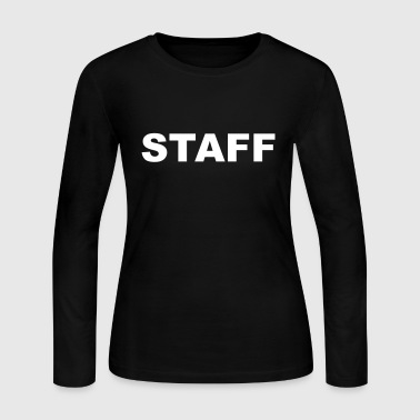 Staff - Women's Long Sleeve Jersey T-Shirt