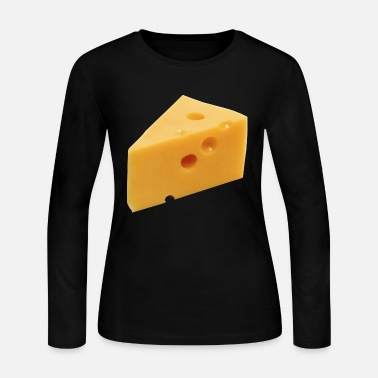 Cheese Cheese - Women's Long Sleeve Jersey T-Shirt