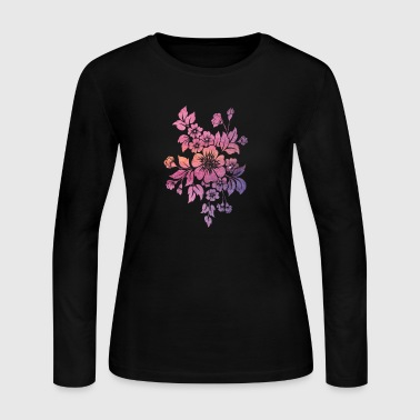 Floral Floral - Women's Long Sleeve Jersey T-Shirt
