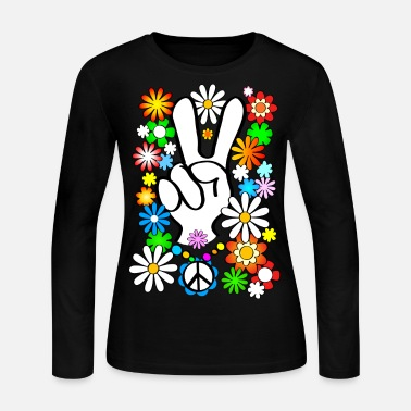 Peace, Baby! - Women's Long Sleeve Jersey T-Shirt