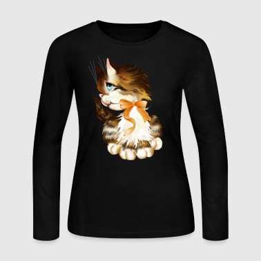 Kitten - Women's Long Sleeve Jersey T-Shirt