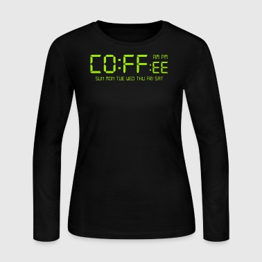 Coffe Time - Women's Long Sleeve Jersey T-Shirt