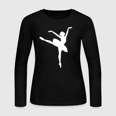 Ballet Dancer - Women's Long Sleeve Jersey T-Shirt
