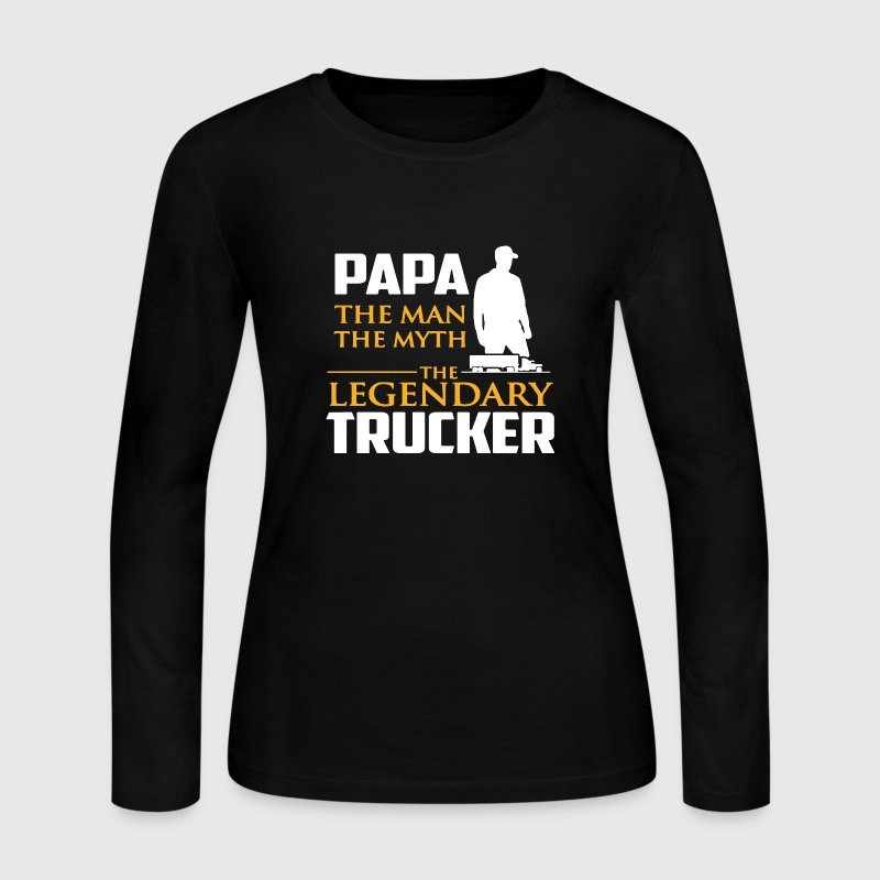Legendary Trucker Shirt - Women's Long Sleeve Jersey T-Shirt