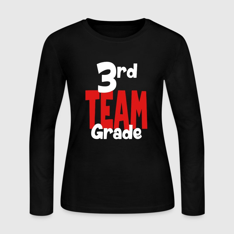 3rd Grade Team Teacher - Women's Long Sleeve Jersey T-Shirt