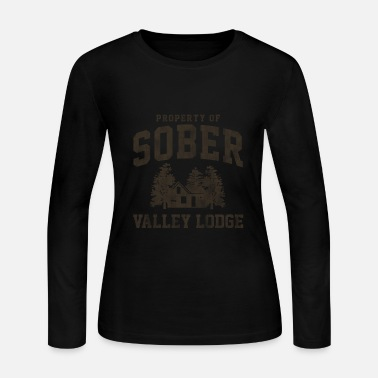 Adonis Sober Valley Lodge - Women's Long Sleeve Jersey T-Shirt