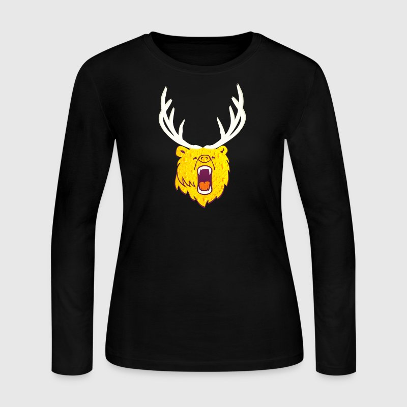 The beer (grizzly, DDP) - Women's Long Sleeve Jersey T-Shirt